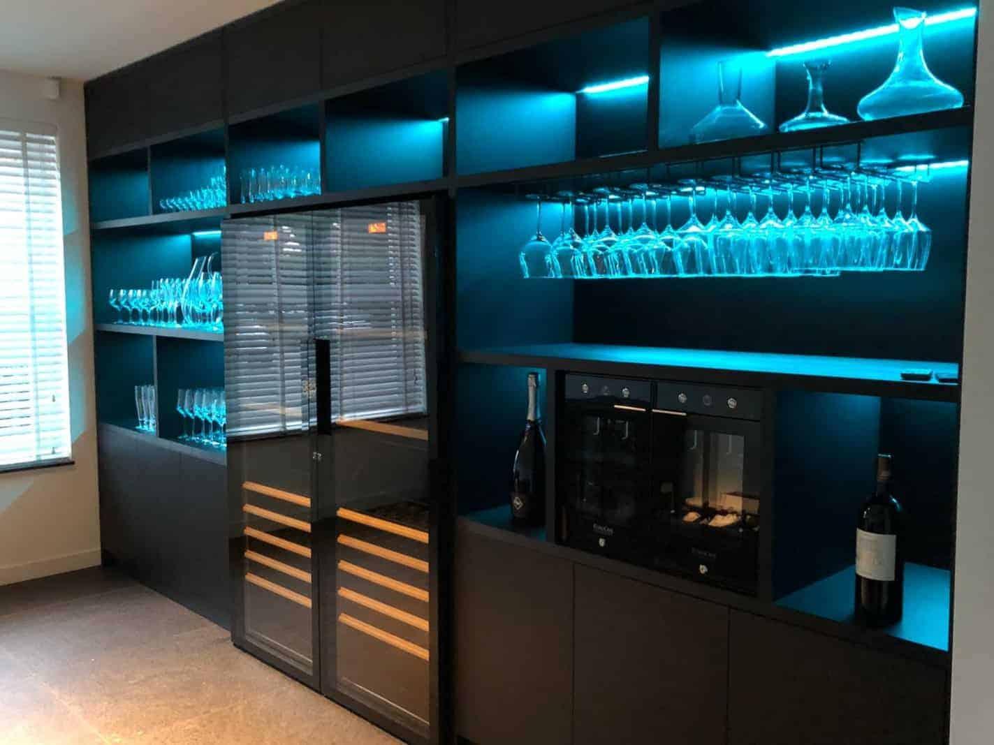 horeca Wijnkast restaurant|hout en vorm