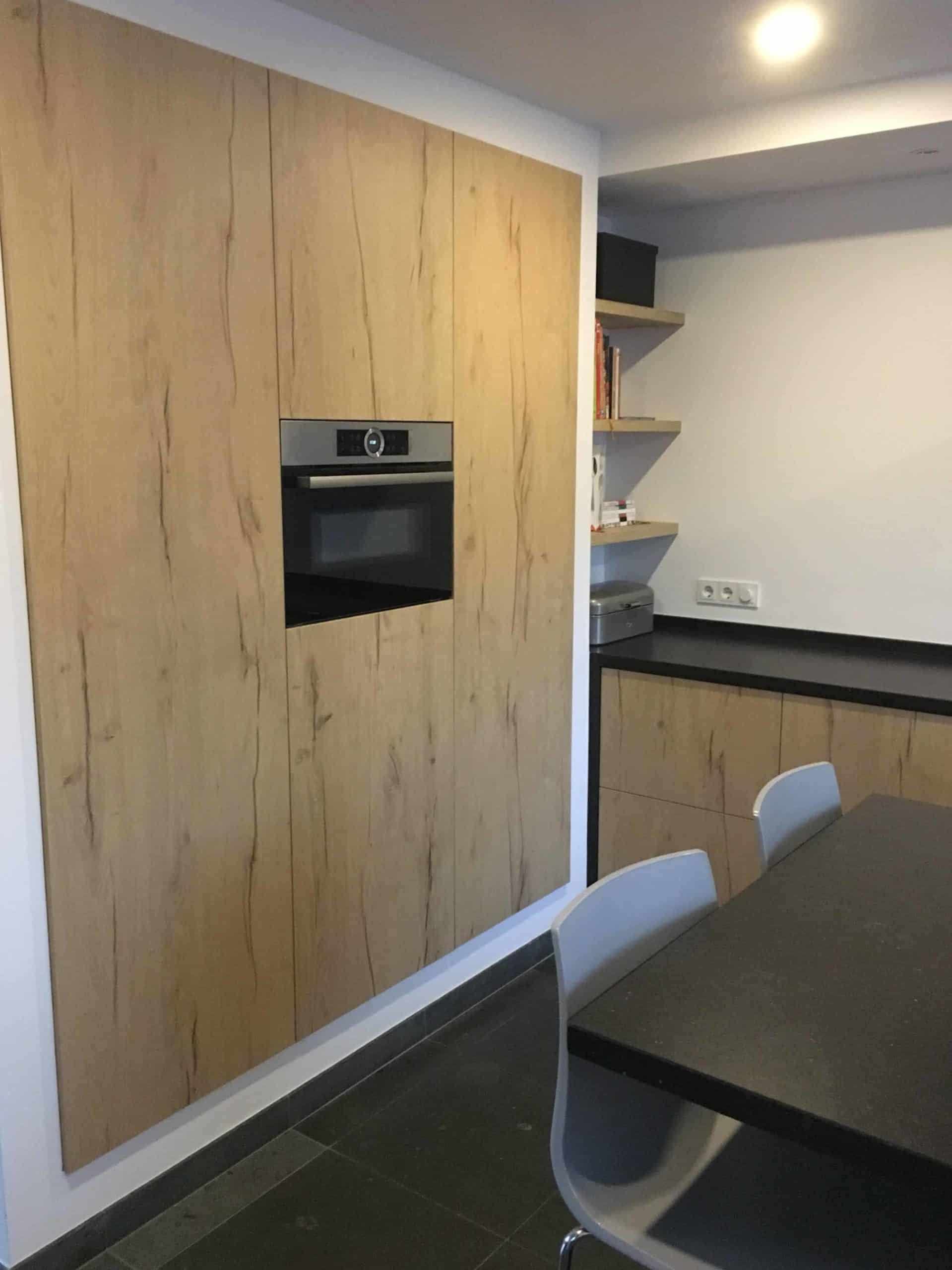 keuken hout look