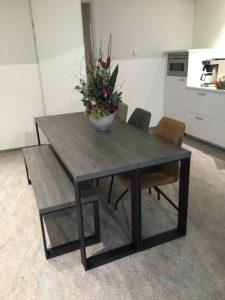 kantoorinrichting tafel ttl Hout en Vorm