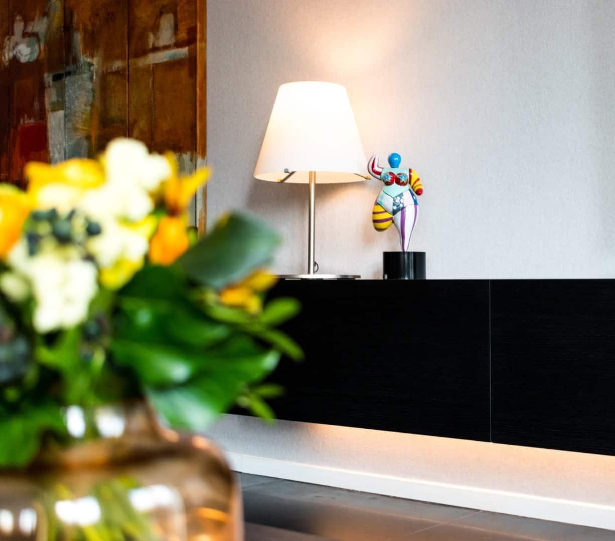 kasten hangend tv meubel | hout en vorm