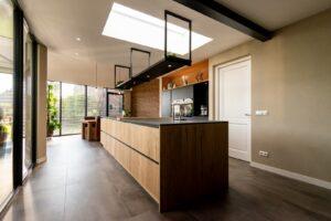 keuken met keukeneiland | Hout en Vorm
