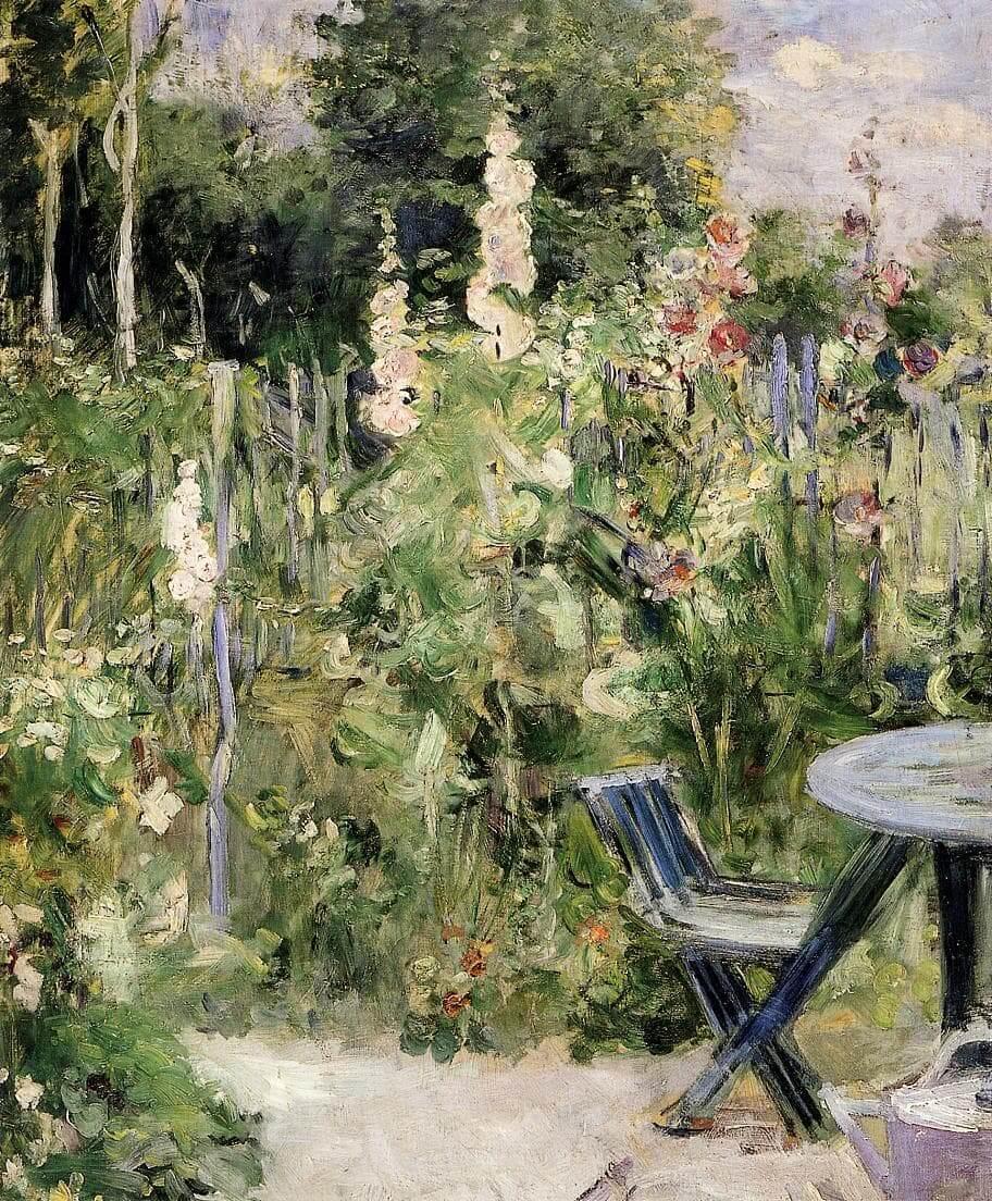 """""""Praktstokkroser"""" av Berthe Morisot"""