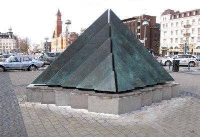 Skulpturen efter konservering.