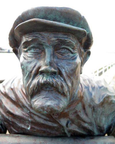 """""""Man med mustasch"""" efter rengöring & innan vaxning."""