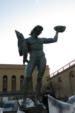 Poseidon efter konservering.