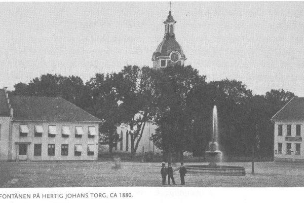 Tritonbrunnen, 1880.