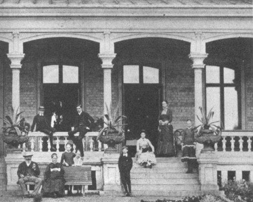 Villa Korndal 1890-tal västfasad