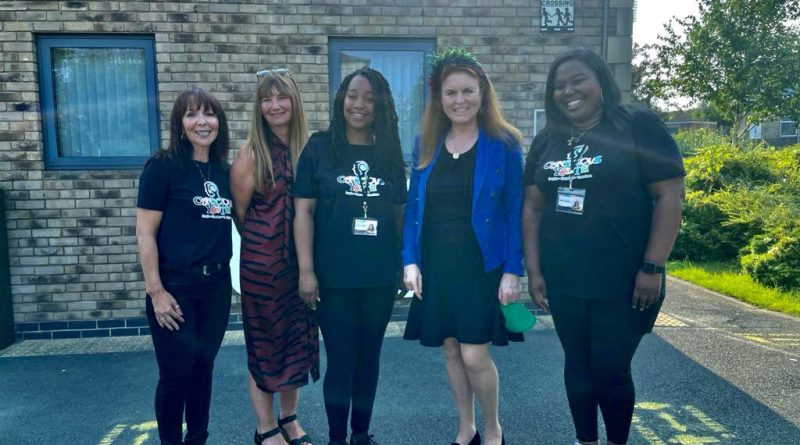 The Duchess of York Visits Huddersfield Community Organisation Conscious Youth