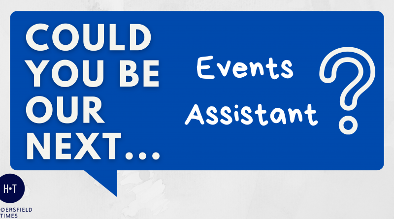 Team HT are looking for an Events Assistant!