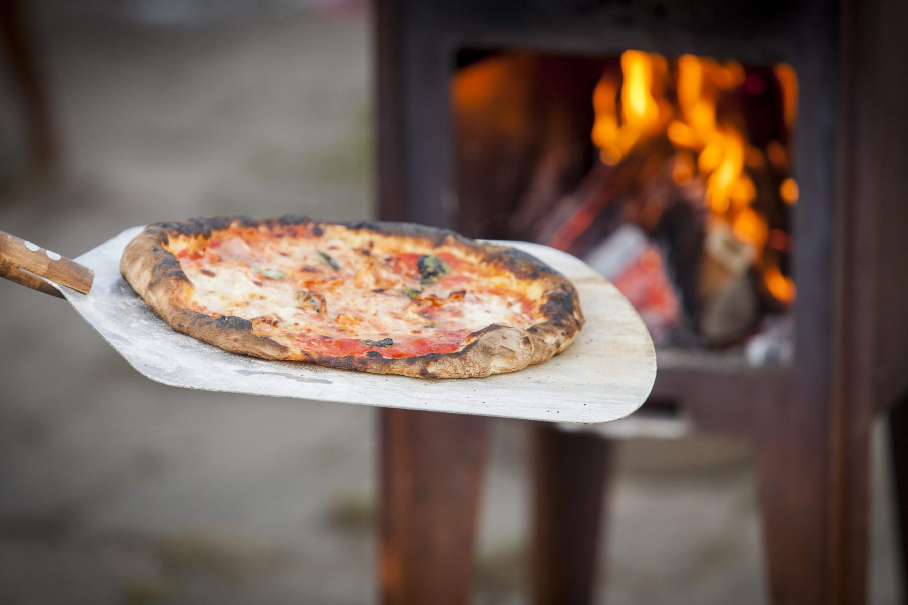 perfekt italiensk pizzabaker pizzaspade