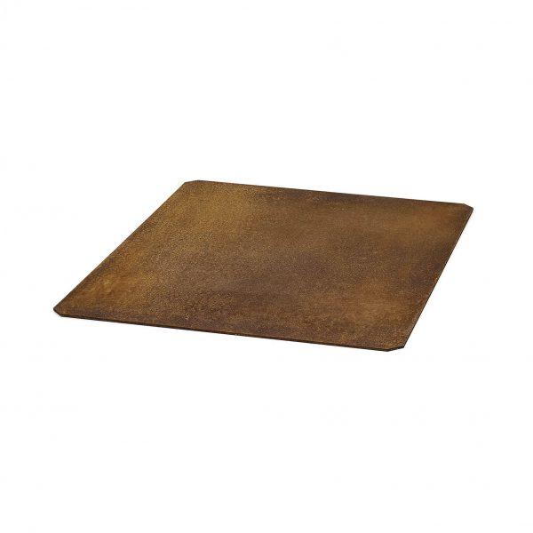 underlagsplate under ovn i corten stål