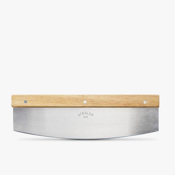 Solid pizzakniv for italiensk bunn