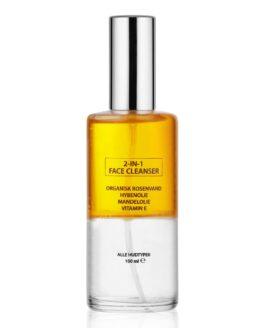Glow Nordic 2In1FaceCleanser renser fugter reparere huden alle hudtyper rens vegansk naturlig til tør hud uren hud