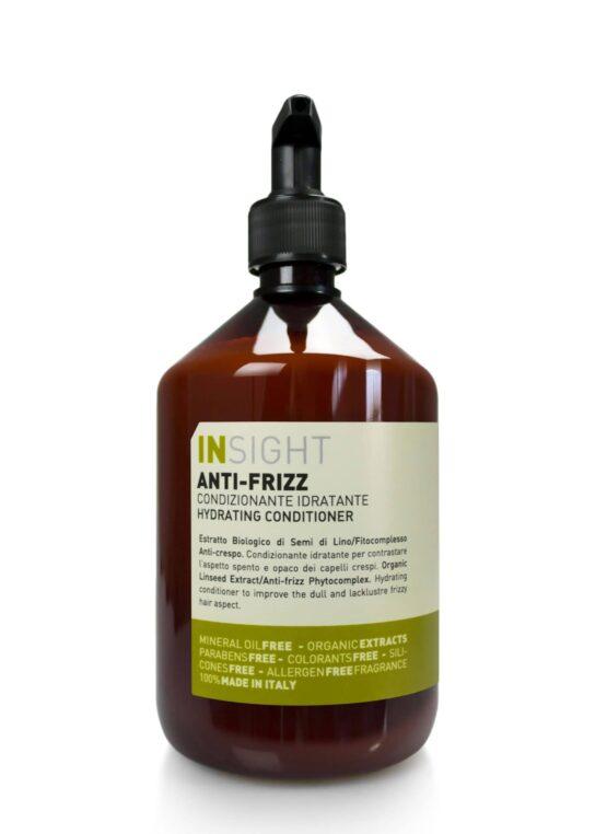 INsight ANTIFRIZZ Conditioner hårpleje kruset hår krøller curly girl vegansk miljøvenlig bæredygtig 96% naturlig Curly Girl godkendt