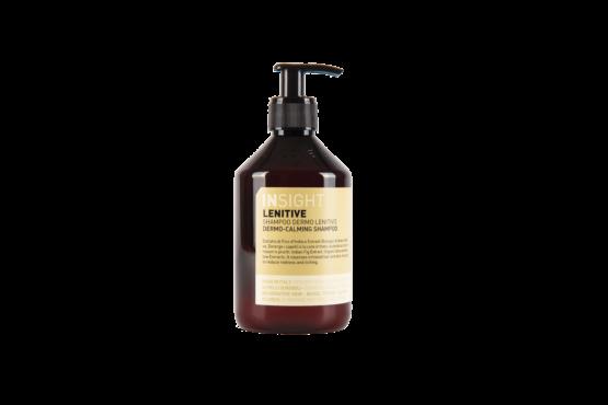 INsight Lenitive-Shampoo hårpleje 98% naturlig sart hovedbund hvidbelagt fugtgivende vegans til kløende hovedbund