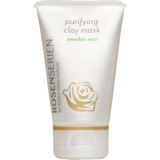 Rosenserien økologiske claymaske