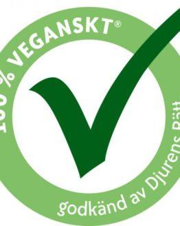 100% Vegansk mærket