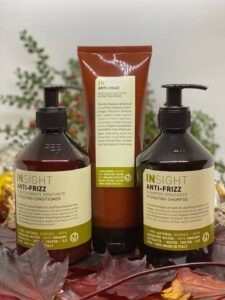 Insight anti frizzshampoo, Conditioner og mask hårplejeprodukter