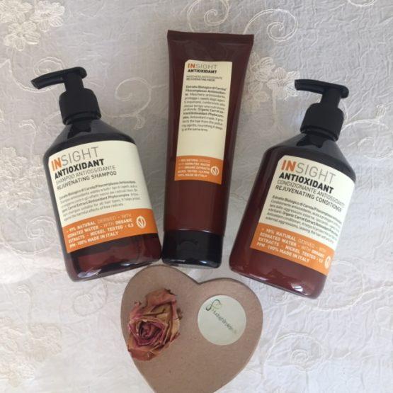 Insight Antioxidant shampoo, Conditioner og mask