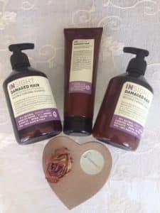 Insight Damaged hair shampoo, Conditioner og mask