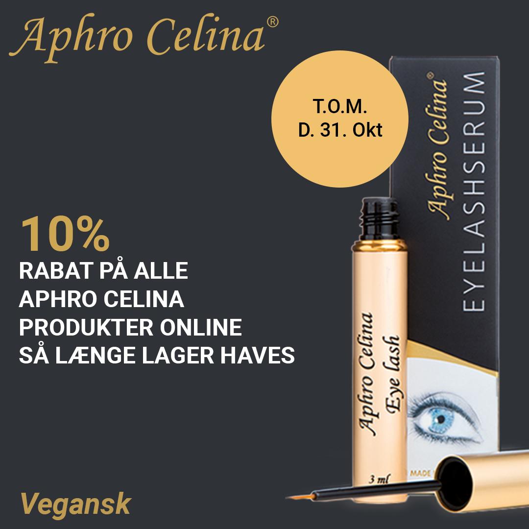 Tilbud Aphro Celina 10% til 31 Oktober