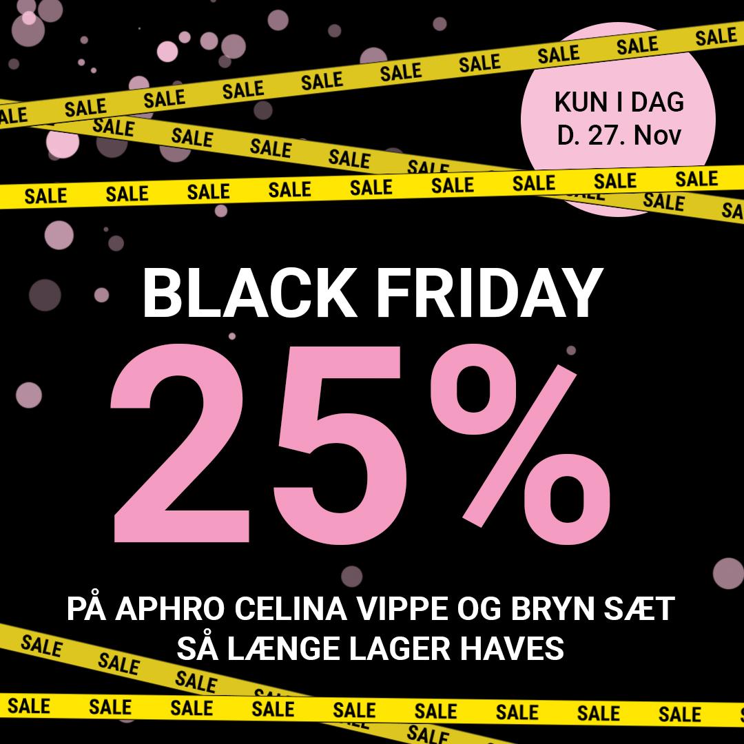 Black friday tilbud Aphro celina 25%