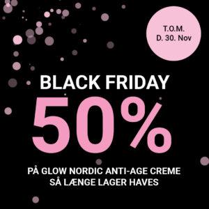 Tilbud Glow Nordic Anti-age Creme 50% til 30 November
