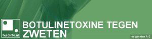 botuline behandeling tegen zweten