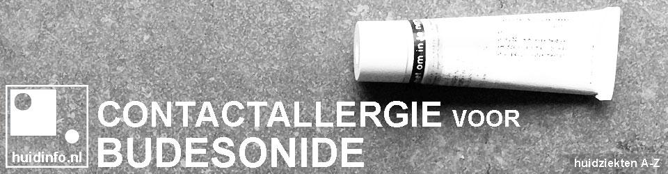 allergie voor budesonide corticosteroid