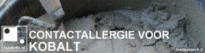 allergie voor kobalt contactallergie