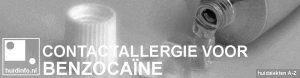 allergie benzocaine