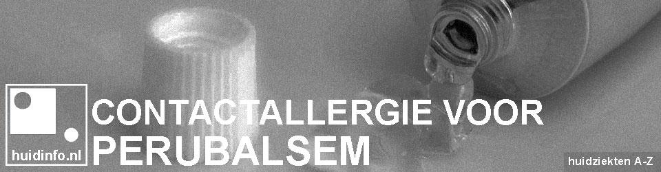 allergie voor perubalsem