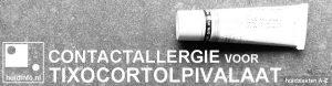 allergie corticosteroiden tixocortolpivalaat