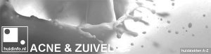 acne zuivel voeding