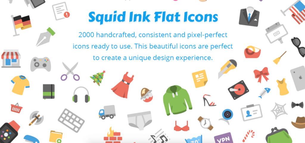 Squid Ink iconen voor PowerPoint
