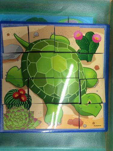P15 - puzzel schildpad