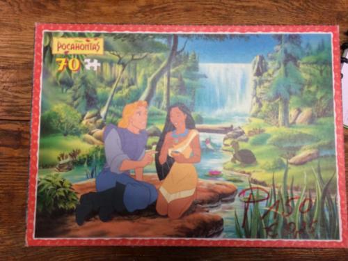 P150 - Puzzel Pocahontas