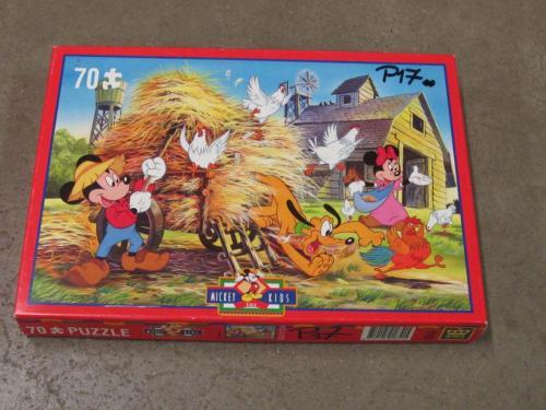 P17 - Puzzel Micky op de boerderij