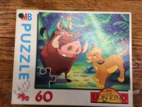 P173 - Puzzel leeuwenkoning