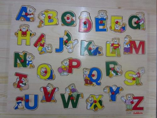 P189 - Puzzel alfabet