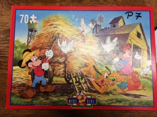 P71 - puzzel Mickey Mouse