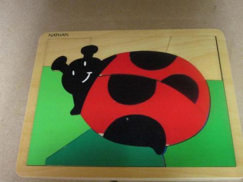 P9 - Puzzel lieveheerbeestje