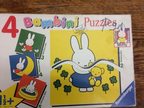 P91 - Bambini puzzels nijntje