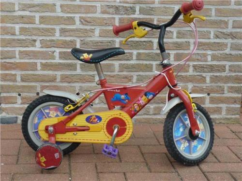 R13 - Winnie the Pooh fiets