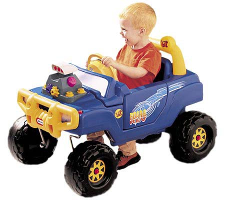 R48 - Blauwe jeep