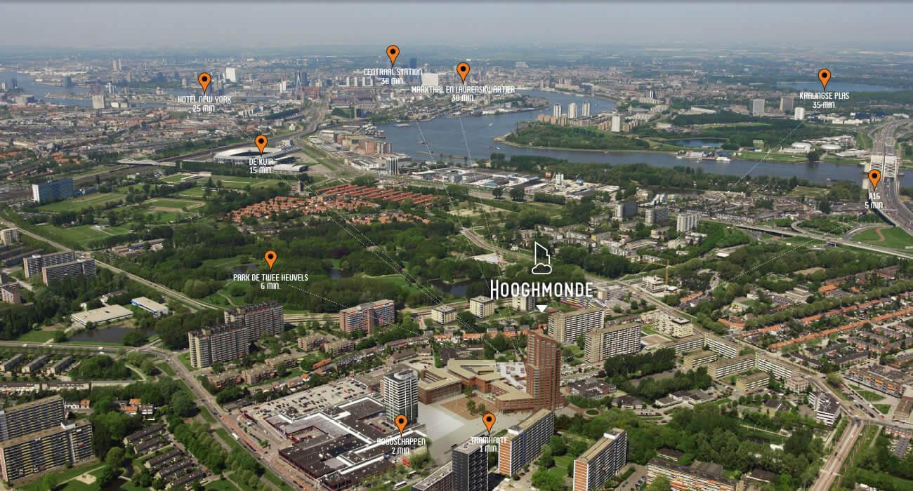 4 appartementen te koop in Rotterdam