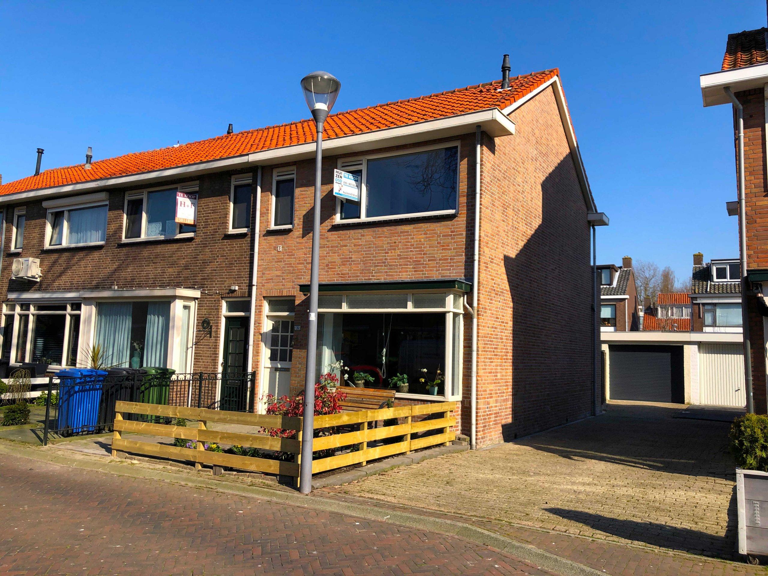 Binnenkort te koop, Nieuw Engeland 26 Hoogvliet Rotterdam