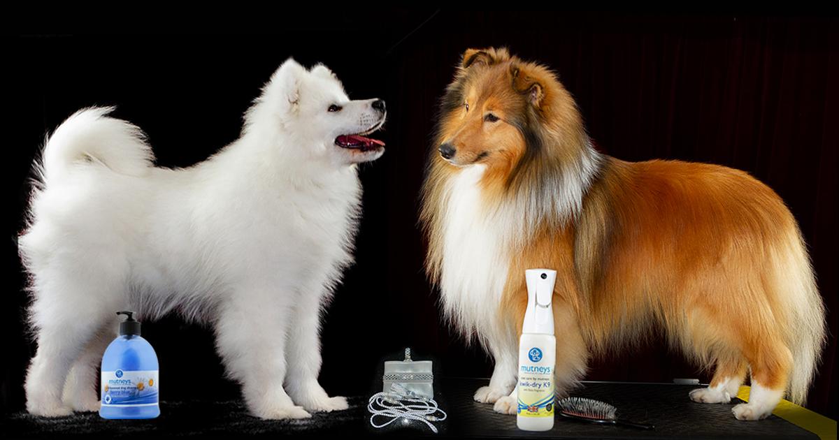 Mutneys groomingprodukter hos hundslottet