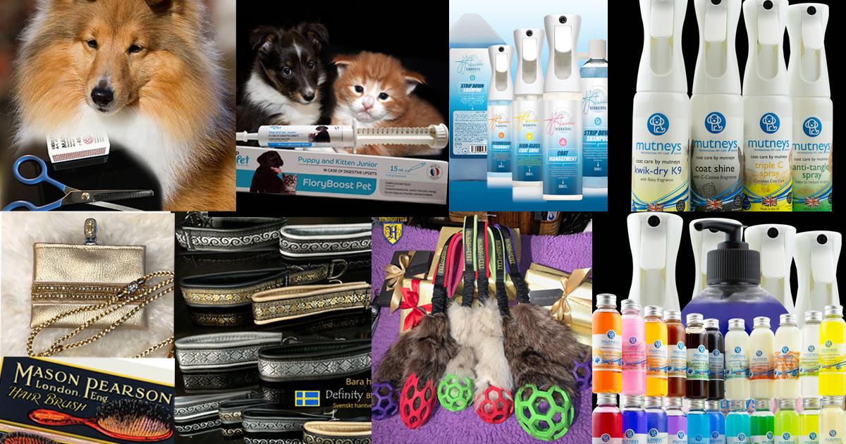 Hundslottets produkter för hund katt