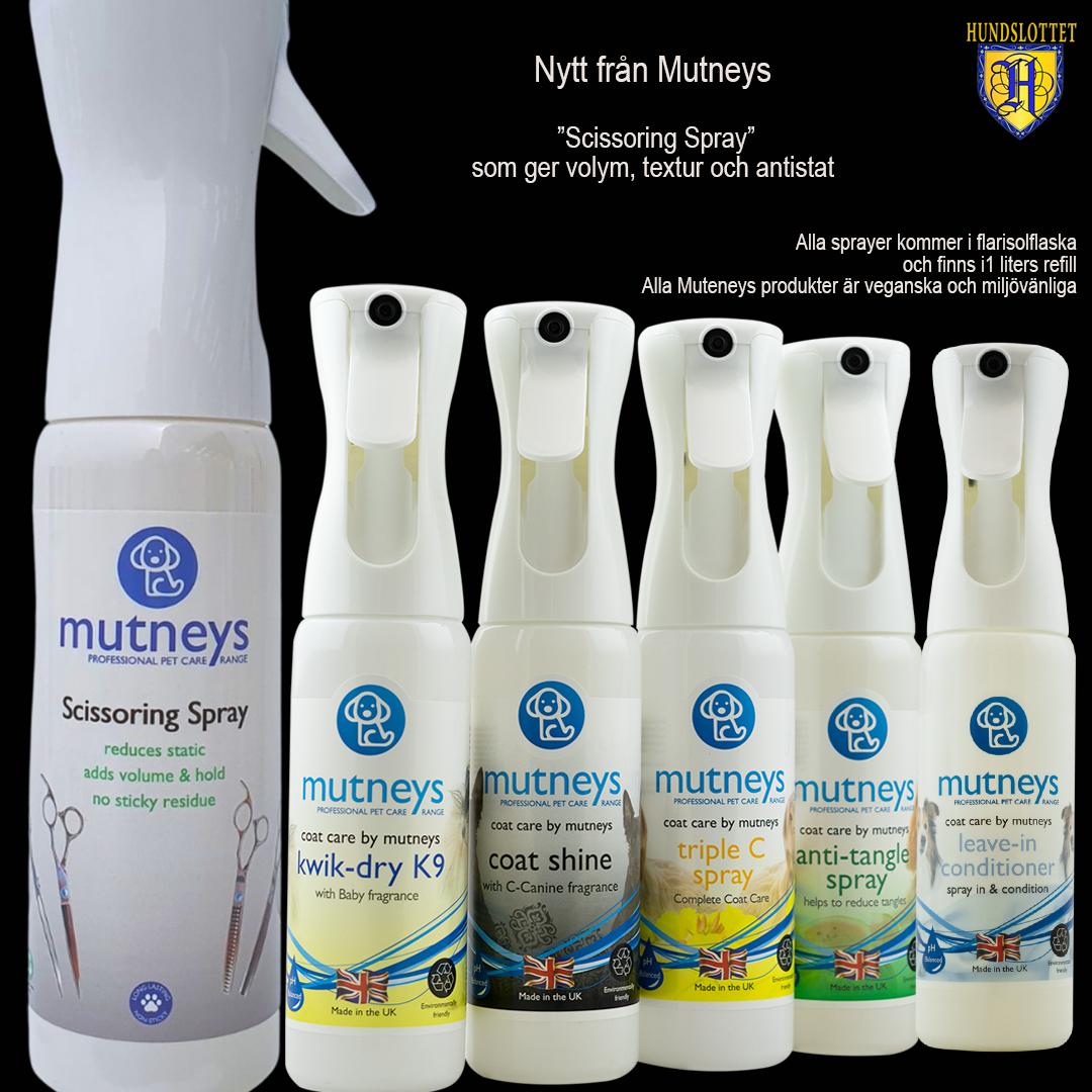 Mutneys CoatCare spray